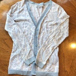 V Neck Button Down Sweater